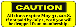 Pay Annual Eagles Membership Dues